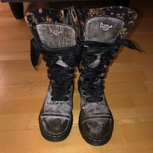 RARE Dr. Marten military boots